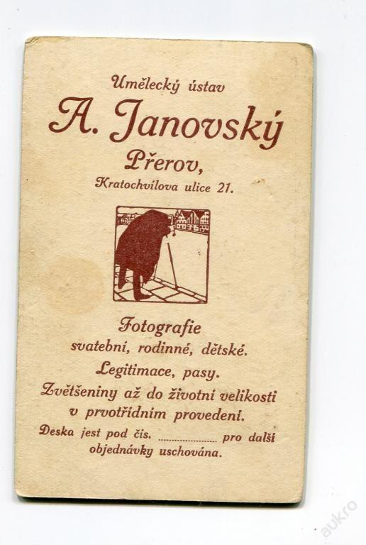 PŘEROV - ATELIÉR A. JANOVSKÝ