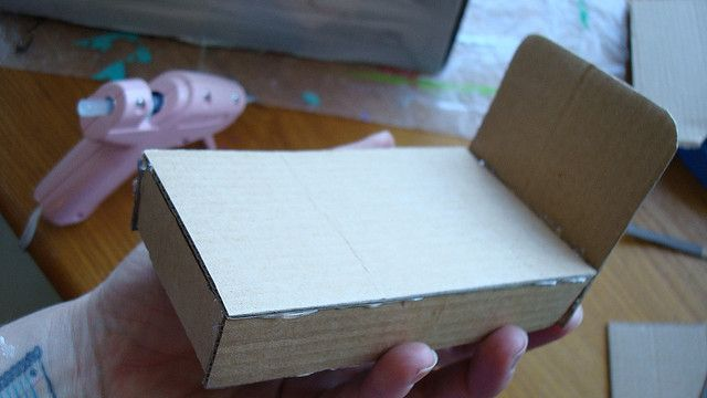How to build dollhouse furniture out of cardboard for How to make a dresser out of cardboard