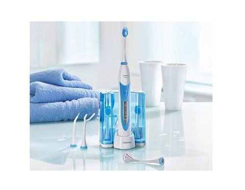 Cepillo de dientes eléctrico Grundig barato modelo TB-8030 con accesorios a un precio de chollo. Relación calidad y precio excepcional.