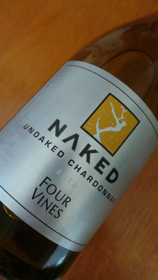 Four Vines Naked Unoaked Chardonnay 2012 review via @maggieunz --> I must try this #wine