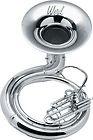 Weril J470 Series BBb Sousaphone Satin Silver