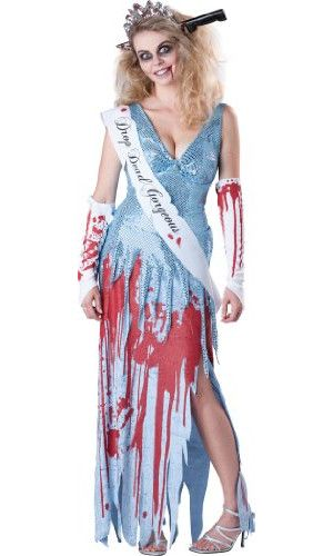 Zombie Prom Queen Costume Ideas