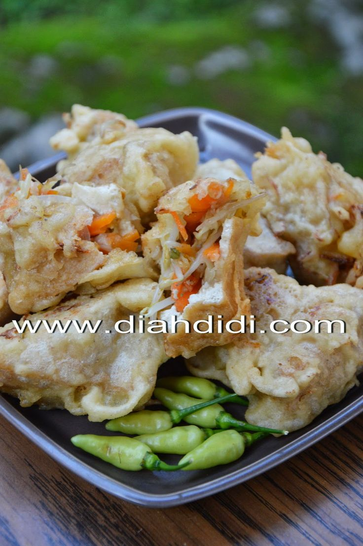 Tahu Telur (Indonesian Tofu Omelettes) - What To Cook Today