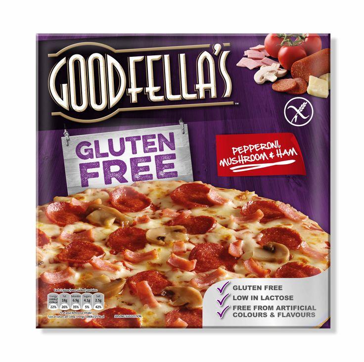 Goodfellas Gluten Free Pizza Pepperoni, Mushroom & Ham by Mesh Dublin