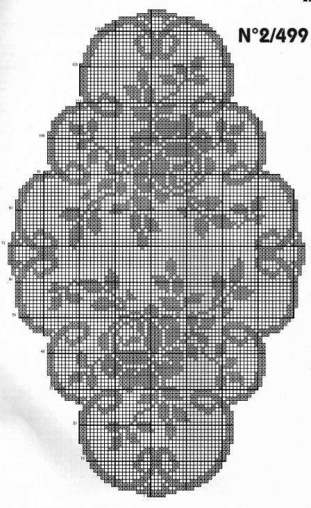 Kira scheme crochet: Scheme crochet no. 2105