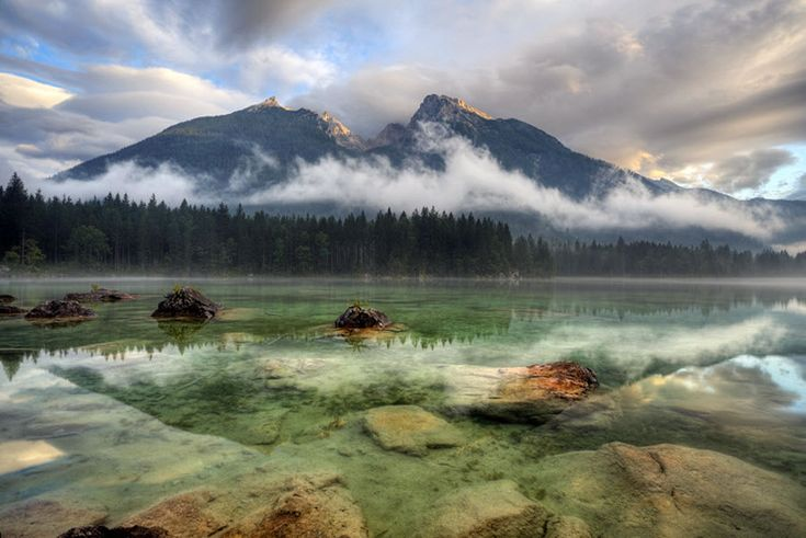 Clear water: Cloudy Day, Clear Water, Beautiful Landscape, Landscape Photos, Amazing Landscape, Lakes, Landscape Photography, Landscape Pictures, Amazing Photos