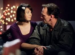 Honey and Billy Mitchell played by Emma Barton and Perry Fenwick.