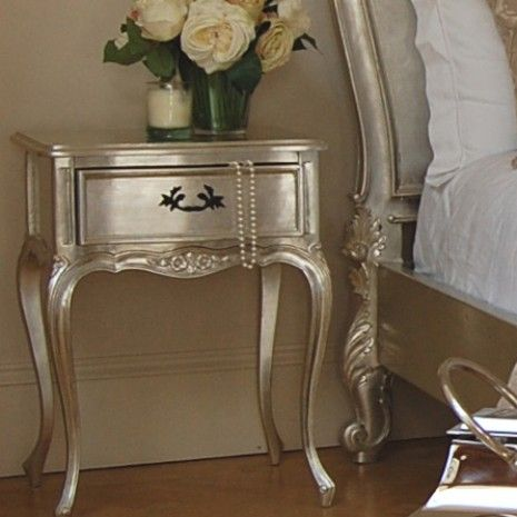 Delightful Furniture Metallic Silver   Can You Paint Wood To Look Like This? Would Be  Awesome