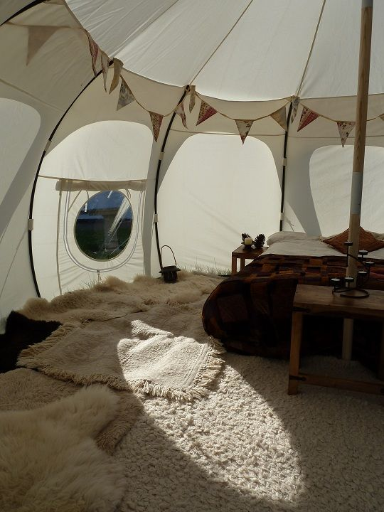 I like the bunting idea & 36 best Take a look inside images on Pinterest | Glamping Go ...