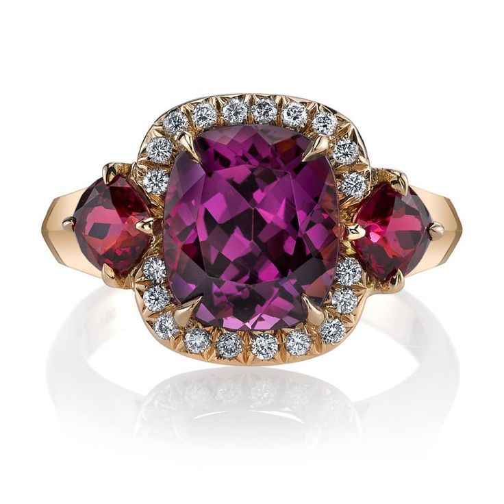 @omiprive spinel and diamond ring #SpectacularSpinel