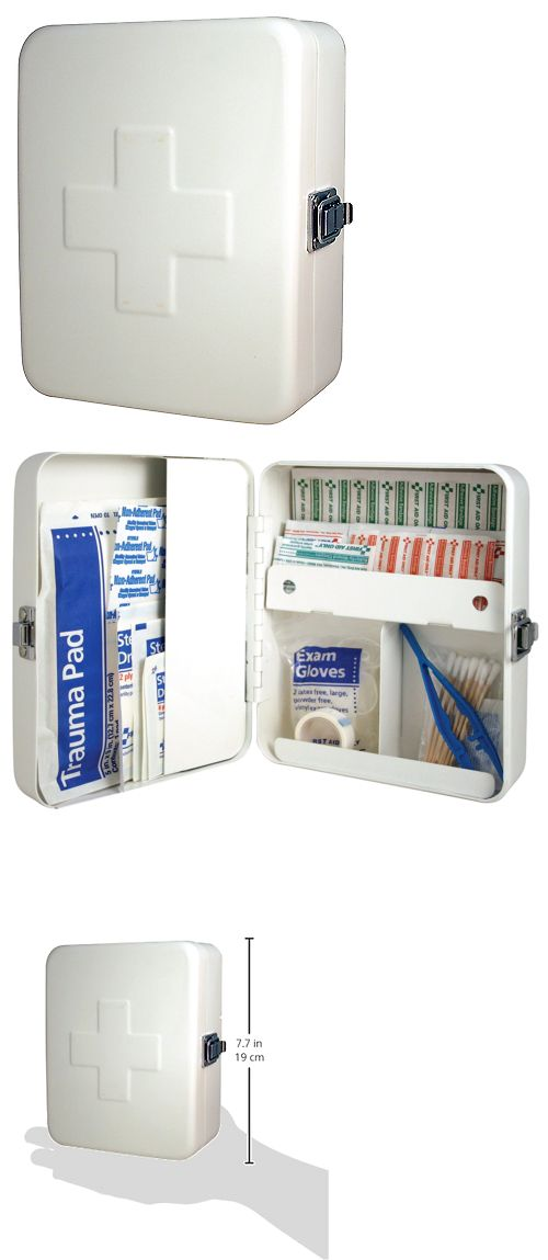 Kits and Bags: Wall Mount First Aid Kit Storage Box Empty Metal Home Office Health Treatments -> BUY IT NOW ONLY: $30.06 on eBay!