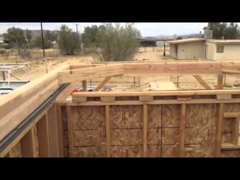 GMARS Roll Off Roof Observatory   Rolling Roof Frame   YouTube