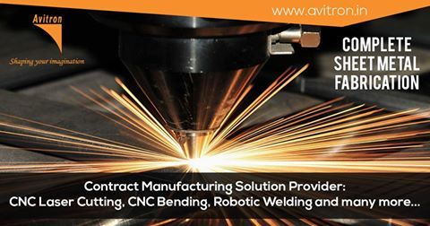 At Avitron, we have expertise in carrying out all the processes involved in Sheet Metal fabrication - Product Design, CNC Laser Cutting, CNC Punching, CNC Bending, Robotic Welding, Powder Coating, Hot Dip Galvanizing, Pad printing, assembling, Installing. For more details contact us Email : info@avitron.in Visit : http://www.avitron.in/
