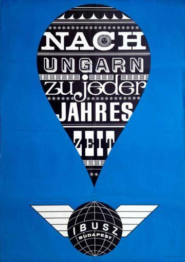 IBUSZ - Choose Hungary in all seasons (Papp Gábor, 1964)
