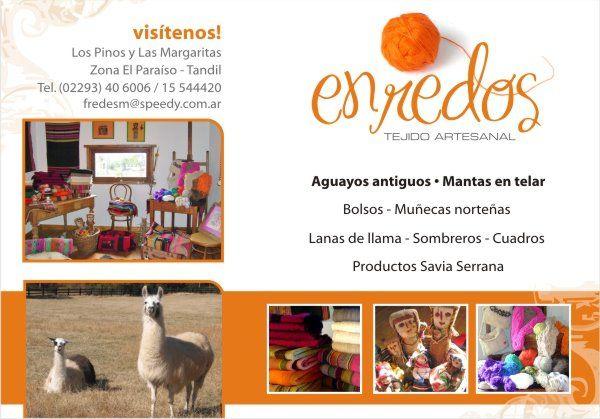 Flyer para Enredos - Tandil
