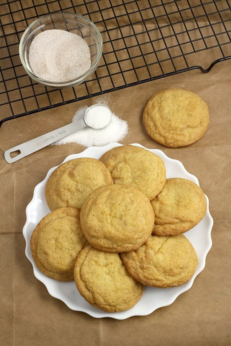 Soft and Chewy Snickerdoodle Cookies The Toasty Kitchen