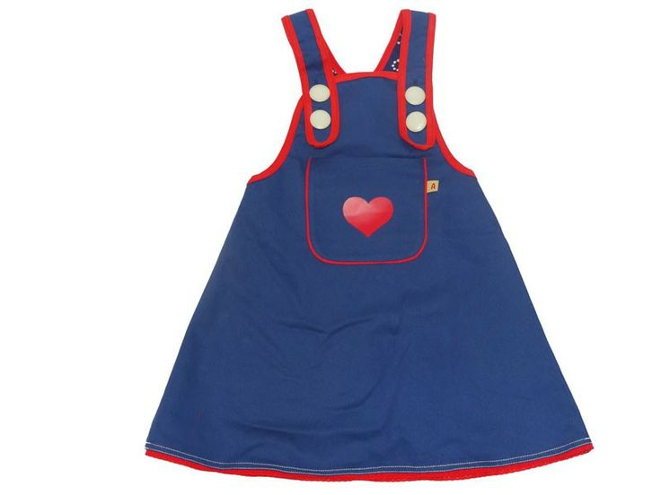 Dress with heart with flower matching tunic from Danish brand, Albababy, 3 -7 years, 50 % discount !