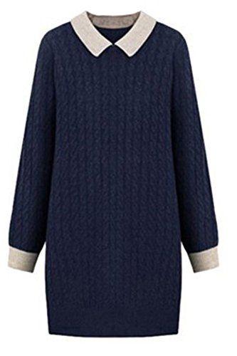 #Figurformendes #Pulloverkleid #Herbst #Winter #Gestrickter #Longpullover #Damen #Lange #Stickjacke