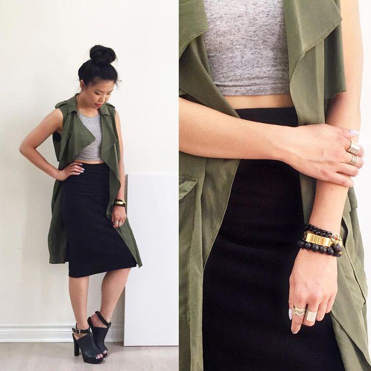 Loving this #Zara Flowy Vest