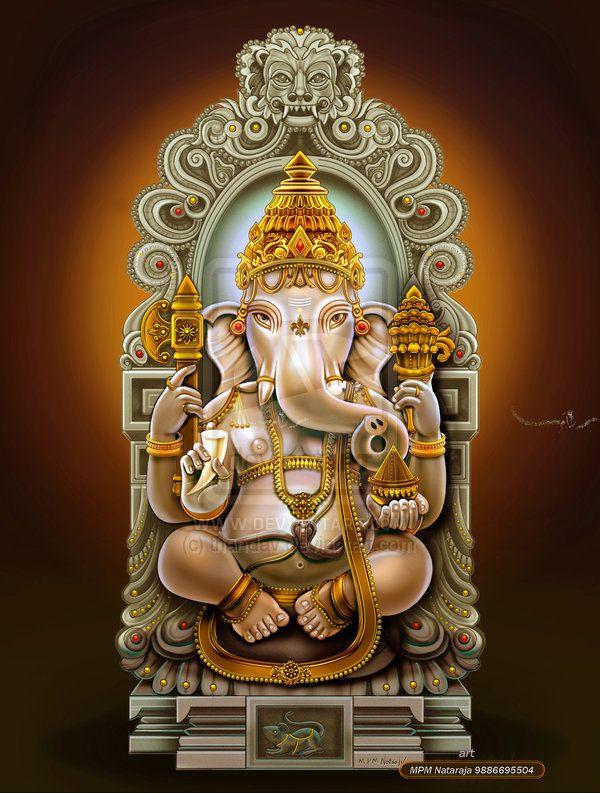 SRI GANESH by thandav.deviantart.com on @deviantART