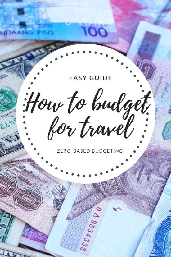 How to budget for travel, travel budget, save money travel, money saving guide travel, How to budget travel, zero-based budgeting, budget tips