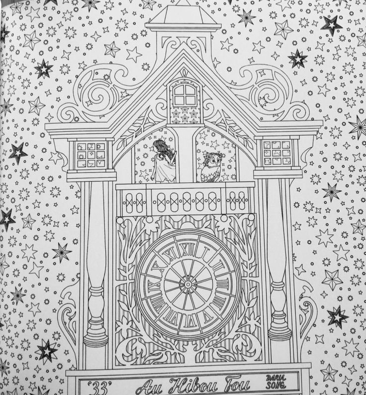 The Time Garden A Magical Journey And Coloring Book Time Series Daria Song 9781607749608