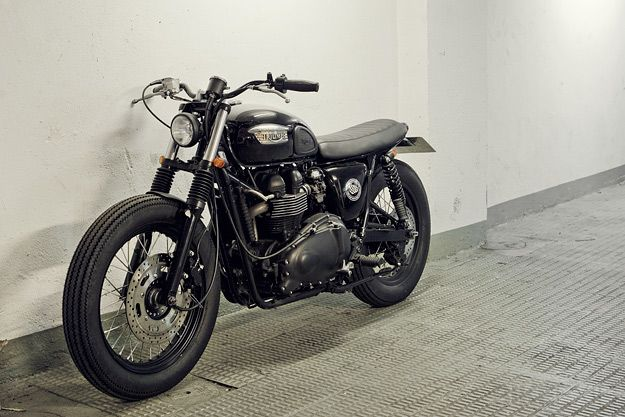 Just like a leather jacket in your closet, you must always have a bonneville in your garage