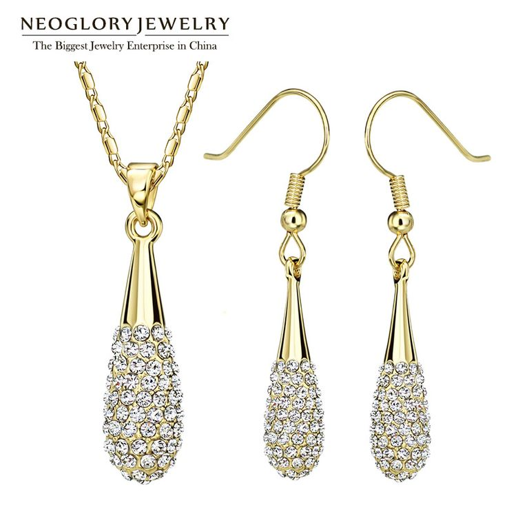 Hesiod Indian Wedding Jewelry Sets Gold Color Full Crystal: 17 Best Ideas About Beautiful Women On Pinterest