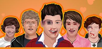 One Direction Döv oyununda macera dolu dakikalar seni bekliyor. Komik oyunların adresi www.oyungag.com