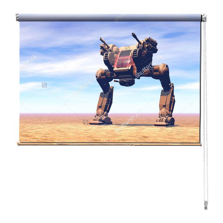Rolgordijn Sci-fi machine | De rolgordijnen van YouPri zijn iets heel bijzonders! Maak keuze uit een verduisterend of een lichtdoorlatend rolgordijn. Inclusief ophangmechanisme voor wand of plafond! #rolgordijn #gordijn #lichtdoorlatend #verduisterend #goedkoop #voordelig #polyester #sciencefiction #scifi #sf #science #fiction #sci #machine #planeet #starwars #star #wars #film #jongenskamer #jongen #buitenaards