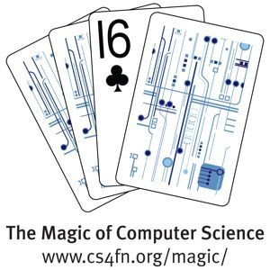 The cs4fn Magic of Computer Science Logo