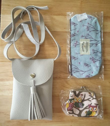 Mixed-Lot-of-Ladies-Girl-039-s-Messenger-Bag-Make-Up-Bag-Pencil-Case-Cute-Purse-NEW