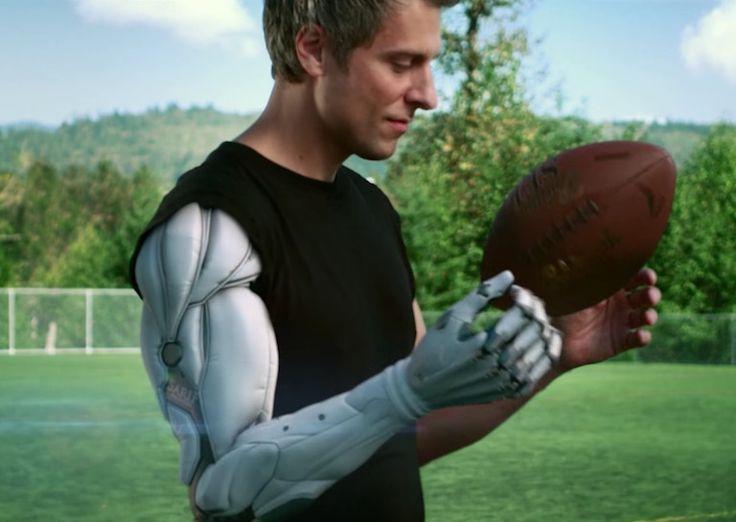 video game bionic arm