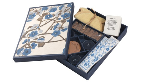 Silence Nature Kit - Incense, Soap and Candle Gift Pack - $25