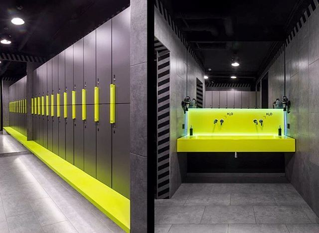 Small High Impact Decor Ideas: 32 Best Corporate Locker Rooms Images On Pinterest