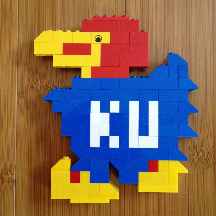 My Jayhawk: Photo   Jayhawks   Pinterest   Lego, Comment ...