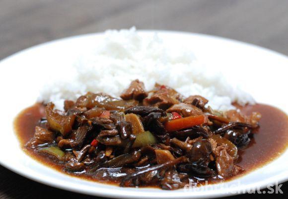 Fotorecept: Bravčové mäsko s ostrokyslou čínskou omáčkou