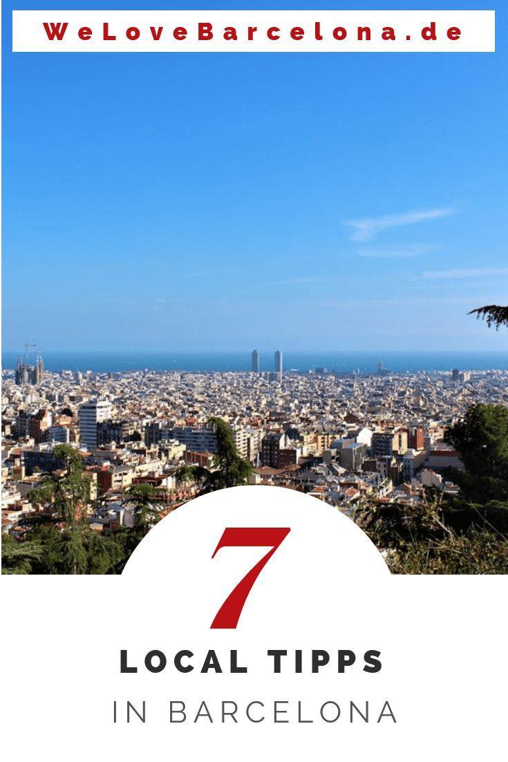 7 Insider Tipps von Locals in Barcelona ♥ Die Du sicher noch nicht kennst!