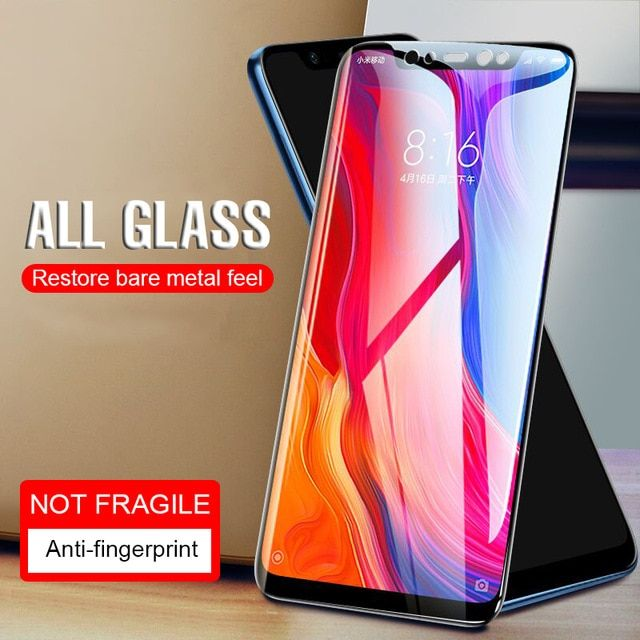 9h Premium Cover Tempered Glass For Xiaomi Redmi 6 Pro 6a Mi 8 Protective Glass For Xiaomi Mi A1 A2 Screen Protecto Phone Screen Protector Glass Film Led Panel
