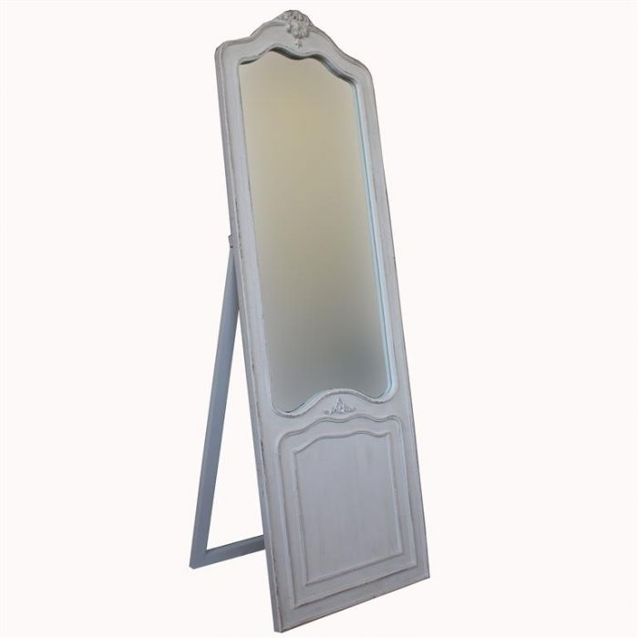 White dressing mirror - standing