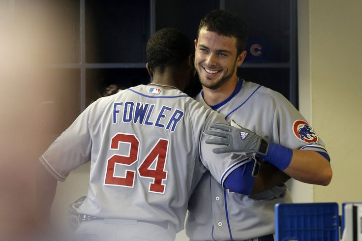 MILWAUKEE — Kris Bryant's long-awaited first big-league home run Saturday night provided some welcome amusement to a Cubs roster known for its loose style as much as its young talent. Description from newslocker.com. I searched for this on bing.com/images