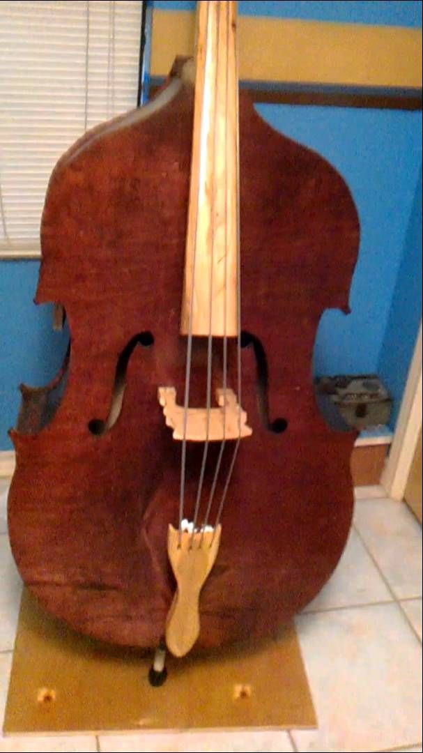 homemade upright bass google zoeken inspirations acoustic bass semi pinterest. Black Bedroom Furniture Sets. Home Design Ideas