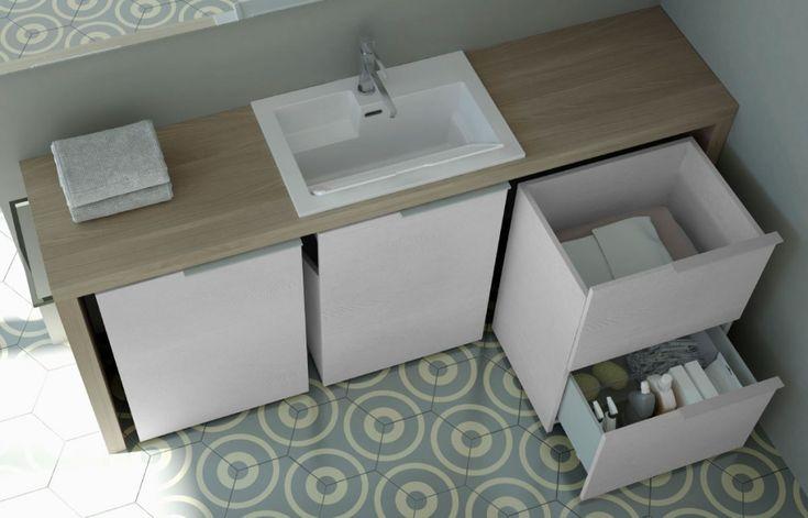 Collezione lavanderia Spazio Time #arredo #arredobagno #interiors #laundry #bagno