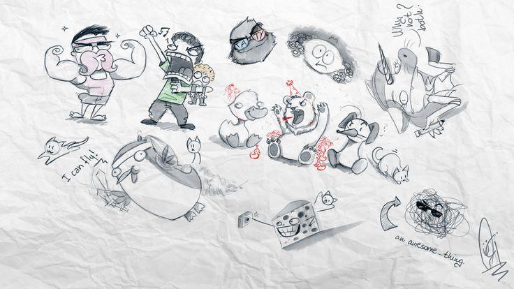 Scribblenetty Drawing : Scribbling with netty by scribblenetty viantart