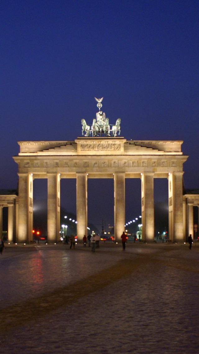 Brandenburg Gate - Berlin, Germany - an awesome way to end a marathon running through here to the finish line!