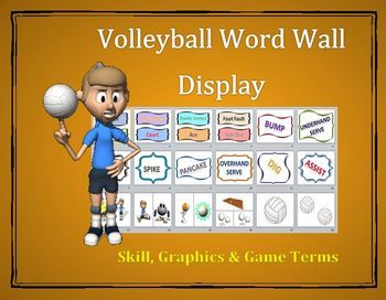 PE Word Wall Displays- 6 Pack Super Bundle