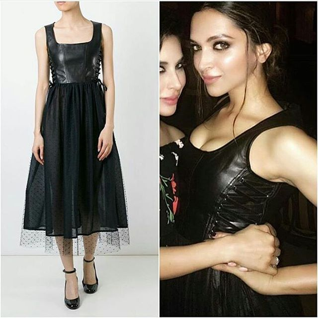 Deepika at Party after Manish Malhotra indian couture show ...
