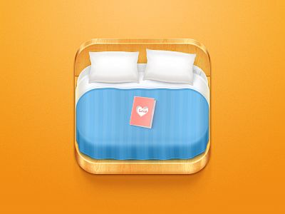 Dribbble - Hotel Booking Icon by Celegorm
