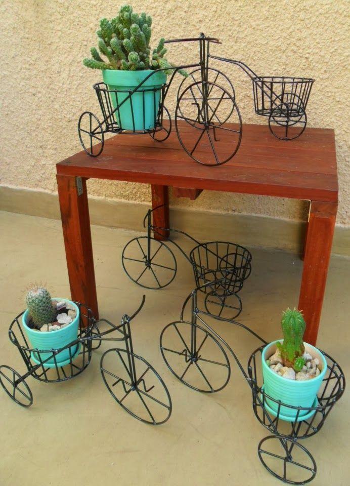 Triciclo con porta macetas: Tienda Deco C