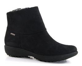 Nadja Zip Boot Black - £69.99  Vegan ankle boot, waterproof